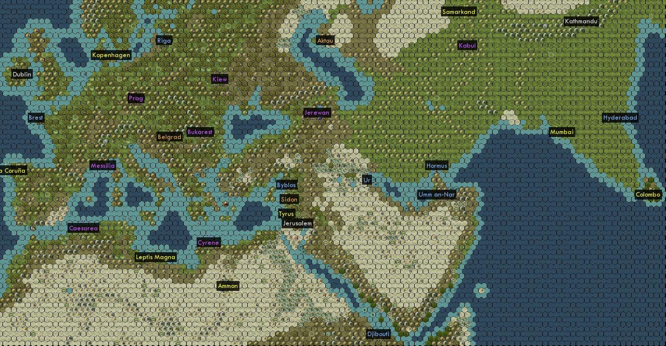 Avalon Hills Civilization Map Project Civfanatics Forums